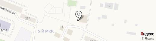 Поляна на карте Дудинки