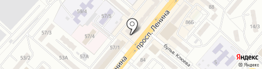 Крюгер на карте Ленинска-Кузнецкого