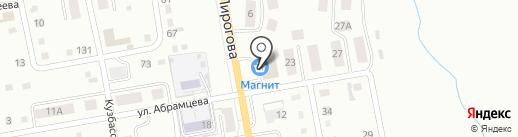 Аромат цветов на карте Ленинска-Кузнецкого