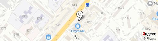 Мастерская по ремонту обуви на карте Ленинска-Кузнецкого