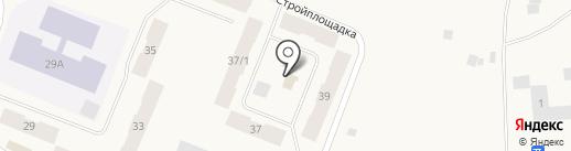 Окраина на карте Дудинки