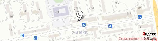 Детский Лео-Клуб на карте Ленинска-Кузнецкого