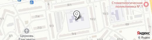 Детский сад №51, Красная шапочка на карте Ленинска-Кузнецкого