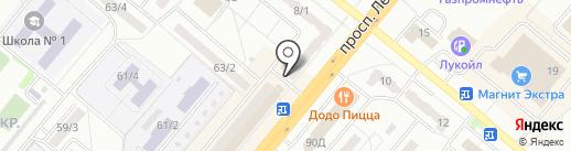 Алтайское пиво на карте Ленинска-Кузнецкого