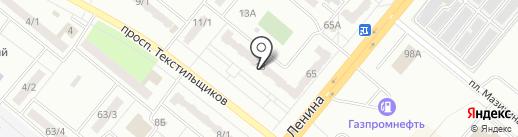 Buffer на карте Ленинска-Кузнецкого