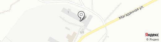 Магазин автозапчастей и автошин на карте Ленинска-Кузнецкого