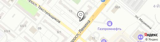 ReStart на карте Ленинска-Кузнецкого
