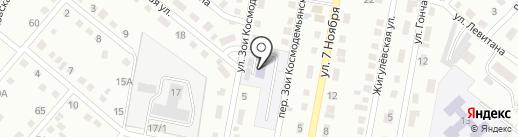 Детский сад №22 на карте Ленинска-Кузнецкого