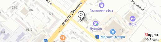 Минимаркет на карте Ленинска-Кузнецкого