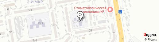 Детский сад №49 на карте Ленинска-Кузнецкого