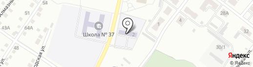 Детский сад №5 на карте Ленинска-Кузнецкого