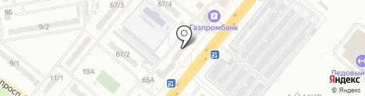 Цветы Олимпа на карте Ленинска-Кузнецкого