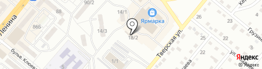 1 на карте Ленинска-Кузнецкого