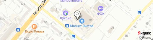 Дело в шляпе на карте Ленинска-Кузнецкого