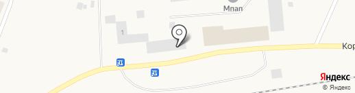 Норильский Никель на карте Дудинки