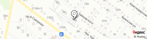 Алёнка на карте Ленинска-Кузнецкого