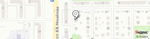 Априори на карте Кемерово