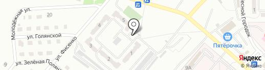 Парадиз на карте Ленинска-Кузнецкого