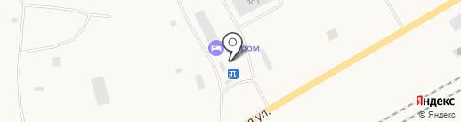 Промысловик на карте Дудинки