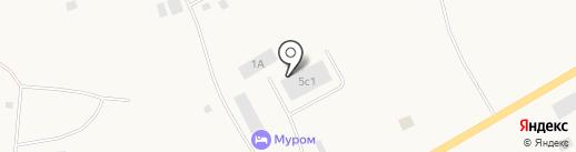 Муром на карте Дудинки