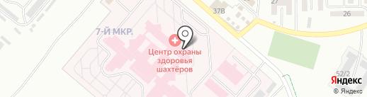 Детская поликлиника на карте Ленинска-Кузнецкого