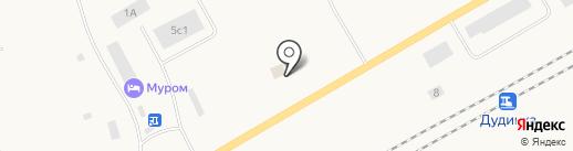 Вездеход на карте Дудинки