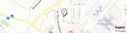 Почтовое отделение связи №9 на карте Ленинска-Кузнецкого