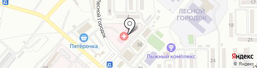 Главное бюро медико-социальной экспертизы по Кемеровской области на карте Ленинска-Кузнецкого