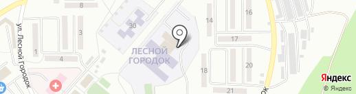 Водный мир на карте Ленинска-Кузнецкого