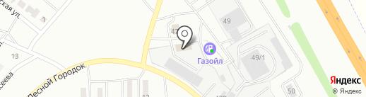 Кридол на карте Ленинска-Кузнецкого