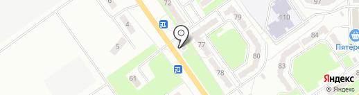 Василек на карте Белово