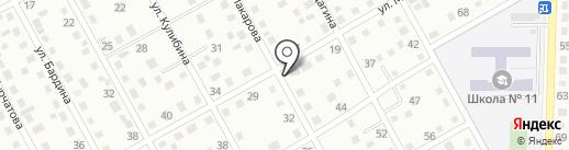Продуктовый магазин на карте Белово