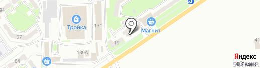 Почтовое отделение связи №32 на карте Белово