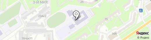 Средняя общеобразовательная школа №14 на карте Белово