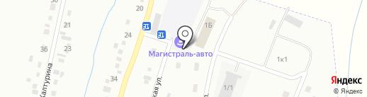 Почтовое отделение связи №18 на карте Белово