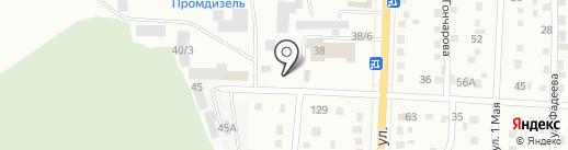 Бастион на карте Белово