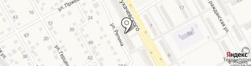 Магазин автозапчастей и инструмента на карте Нового Городка