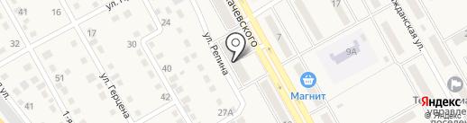 Детская библиотека №7 на карте Нового Городка