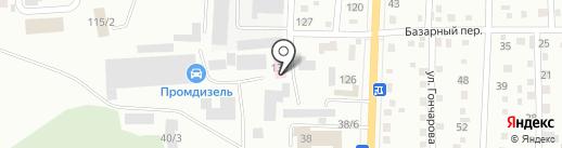 Ветеринарный участок на карте Белово
