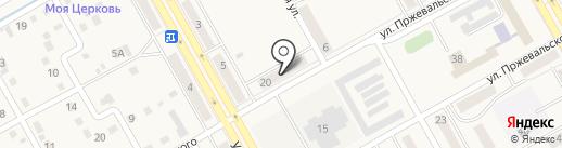 Мария-Ра на карте Нового Городка