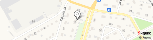 Шиномонтажная мастерская на карте Нового Городка