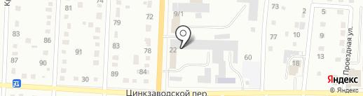 Беловская горэлектросеть на карте Белово