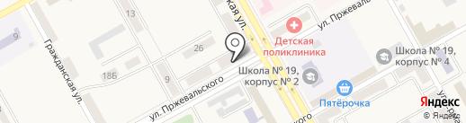 Участковый пункт полиции на карте Нового Городка