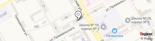 Отделение полиции Новый Городок на карте Нового Городка