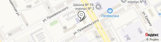 Надежда на карте Нового Городка