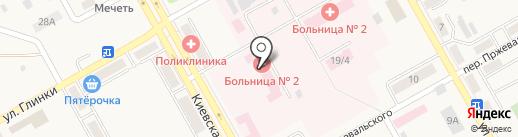 Нефросовет на карте Нового Городка