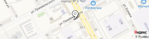 Городок на карте Нового Городка
