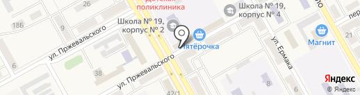 Микрокредитная Компания Аванс на карте Нового Городка