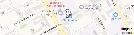 Колмогоровский бройлер на карте Нового Городка