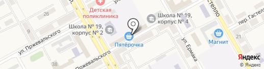 Пятёрочка на карте Нового Городка